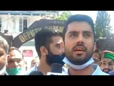 चम्बा ! राष्ट्रीय मुद्रीकरण पाइपलाइन के विरोध में युवा कोंग्रेस ने रैली निकालकर किया जोरदार प्रदर्शन