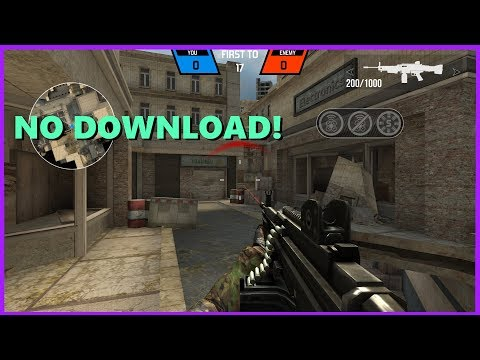 Best FREE FPS Browser Game 2018 (NO DOWNLOAD!) - Gameplay