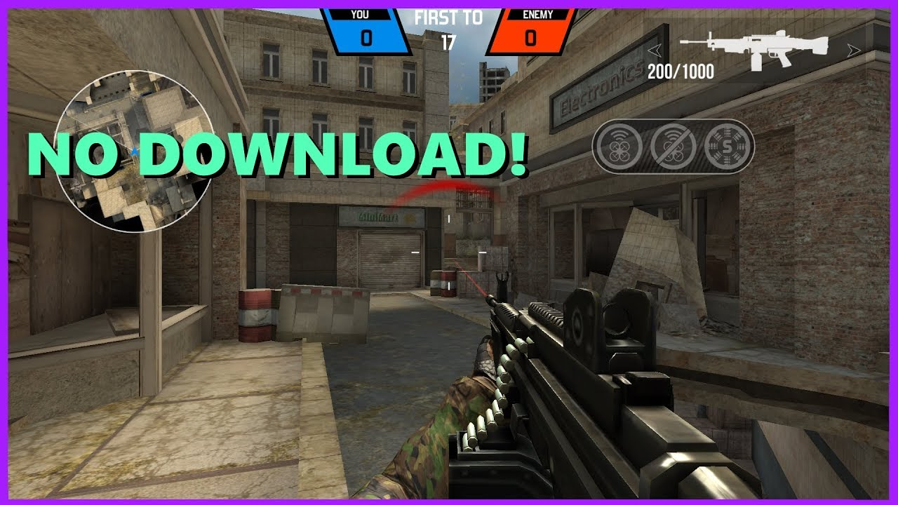 Browser Game Shooter