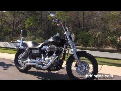 Used 2009 Harley Davidson Street Bob Motorcycle for sale