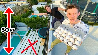 DON'T CRACK THE EGG AND WIN $10,000 - Egg Drop Challenge