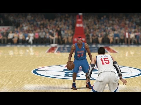 Tutorial how to make Alley Oops in NBA 2K14 for PC - YouTube