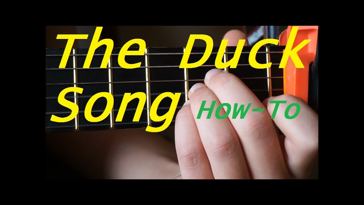 how to play the ship song on guitar