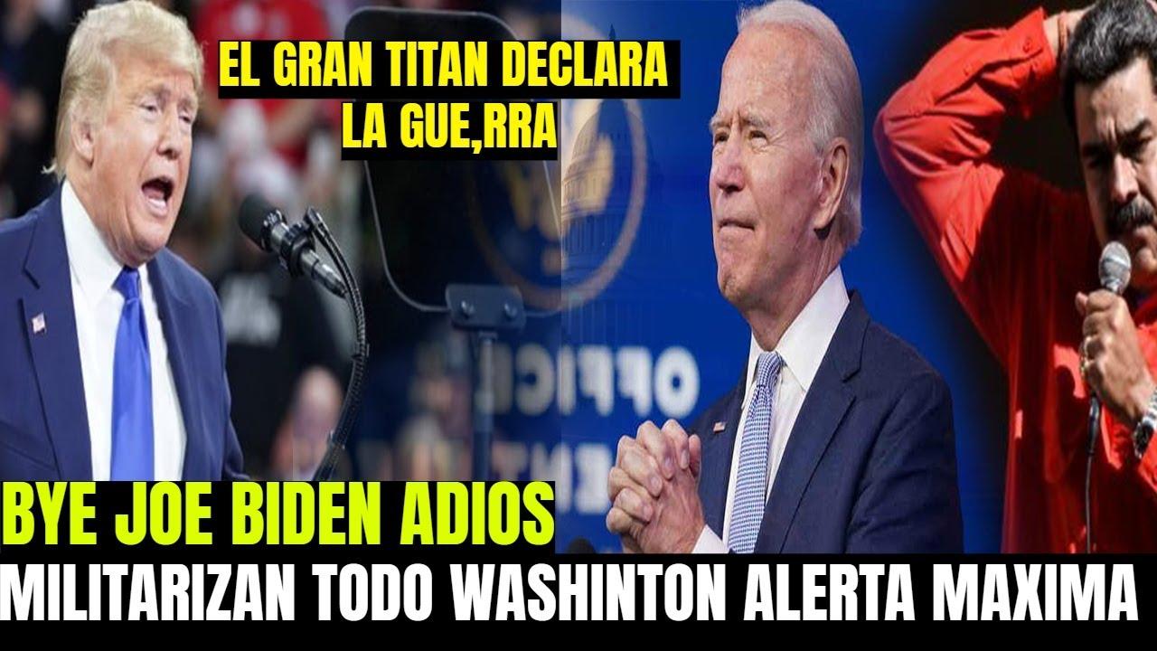 DONALD TRUMP HOY RECIBE AYUDA EN EE.UU - JOE BIDEN SORPRENDIDO - PRIORIDAD IR POR NICOLAS MADURO