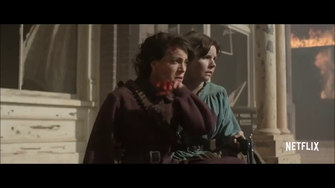 Download GODLESS Official Trailer HD   Jeff Daniels Netflix Western Series