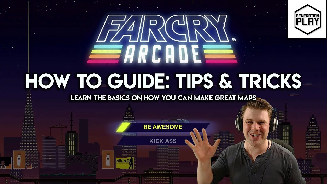 Farcry Arcade Editor Tutorial Tips And Tricks Learn The Basics Generation Play