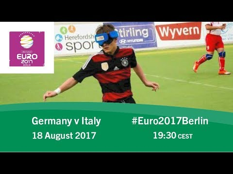 Germany vs Italy | IBSA Blind Football European Championships