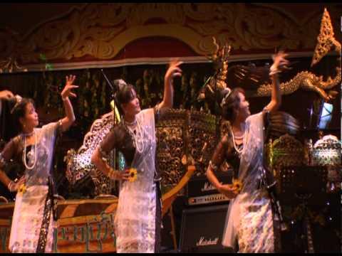 Rakhine(Arakan) Thingyan Dance london 2012