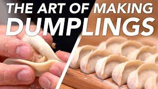 The Art Of Making Dumplings By Hand
