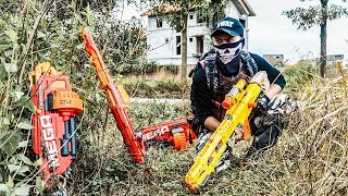 LTT Nerf War : SEAL X Warriors Nerf Guns Fight Criminal Group Dr.Lee Professional Hunter