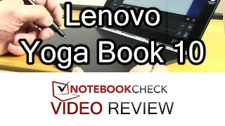 Lenovo Yoga Book 10 Review and Tests  Digitizing 2 in 1