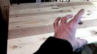 Pallet Project:king Size Headboard Pt 1of3