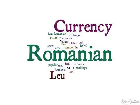 Romanian Currency - Leu