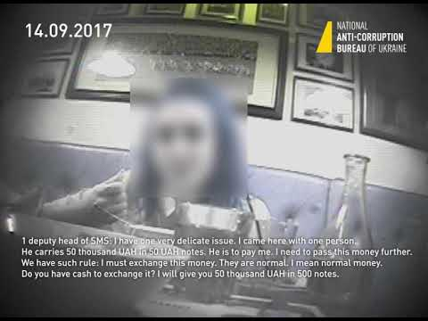 Fragments of video evidence made within the undercover operation of the NABU & SAPO