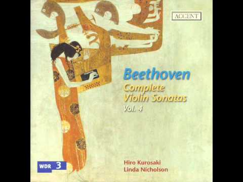Beethoven - Violin Sonata No. 8 In G Major, Op. 30 No. 3