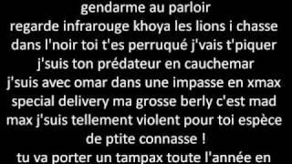 Download Bafana bafana remix + Lyrics (La fouine VS Laouni  2011) MP3 song and Music Video