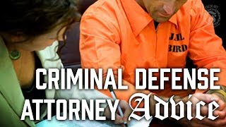Advice for Criminal Defense Attorneys - Prison Talk 11.16