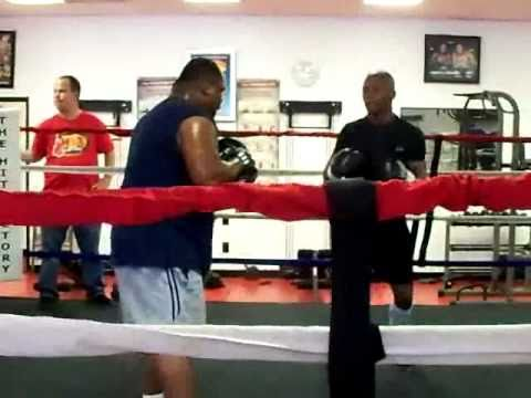 Zab Judah training