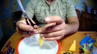 Изготовление поролоновой приманки.