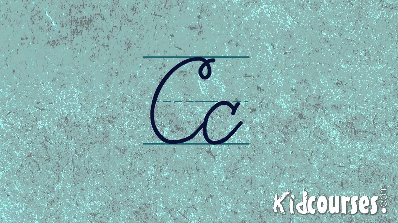 Cursive Handwriting: Cursive Letter C