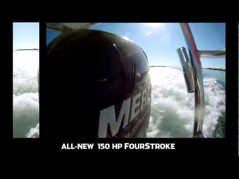 Mercury Marine's Hot New 150 HP FourStroke - Florida Sport Fishing TV
