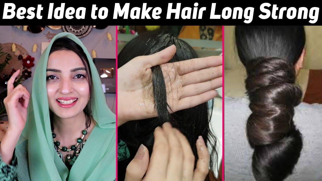 DIY Herbal Hair Pack for Long, Silky & Smooth Hair