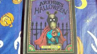 I Read Arthur's Halloween By Marc Brown