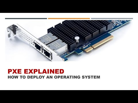 Understanding PXE and how to deploy operating systems on a LAN