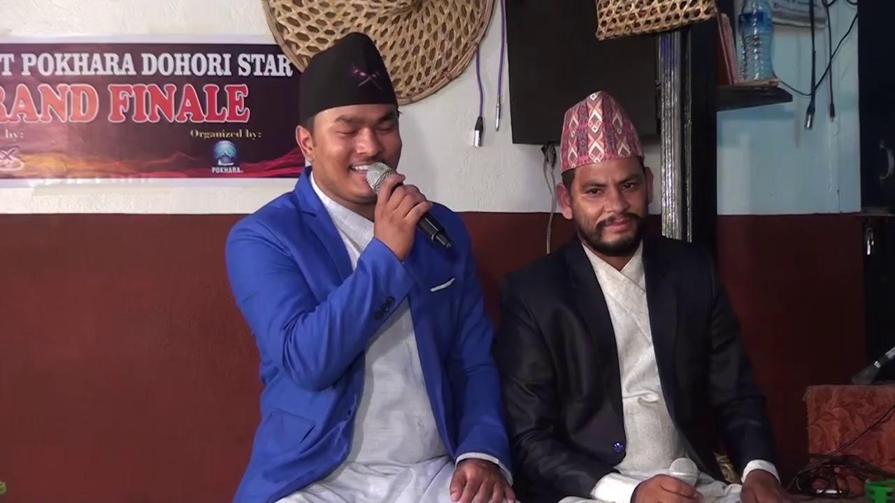 Everest pokhara dohori star final round promo suman khadka vs madhu chapagai lok dohori song