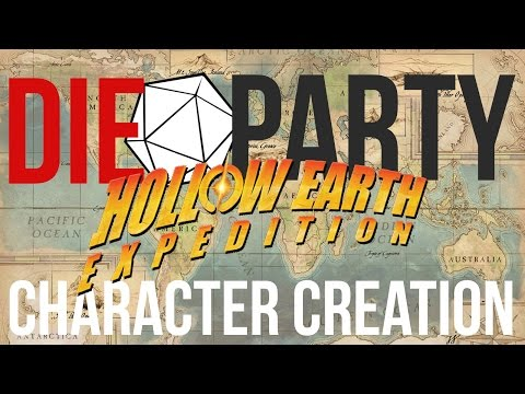 Die Party: Hollow Earth Expedition - Character Creation