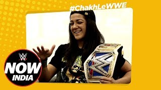 Bayley tastes Indian Snacks on Chakh Le WWE - Ep.3: WWE Now India