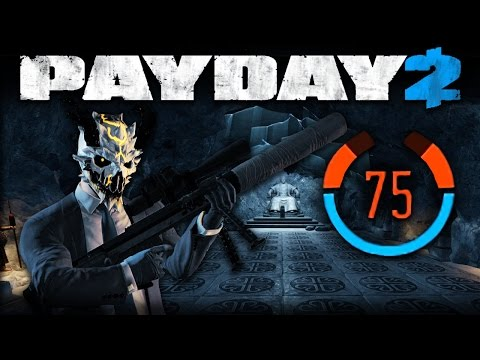 The Diamond - 75 Detection Risk (Payday 2 DW Solo Stealth)