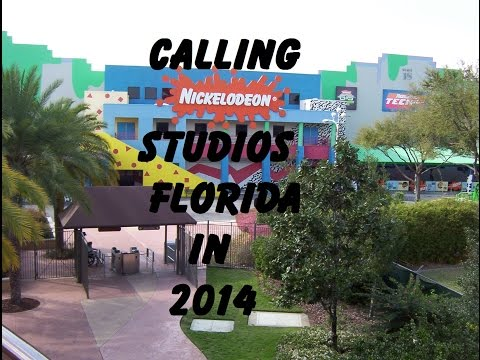 Calling Nickelodeon Studios Florida in 2014