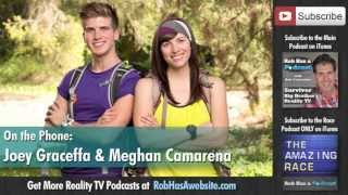 Joey Graceffa and Meghan Interview After Being Eliminated from The Amazing Race All-Stars J