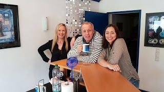 Mit der Gruppe Wind im Kaffeeklatsch Interview