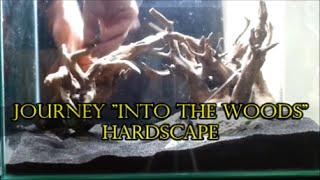 "83 - How Setup A Planted Aquarium - ""into The Woods"" Hardscape Setup, Substrate,rock Plus Wood"