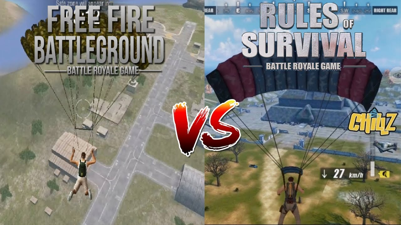 Rulles Of Survival Vs Playerunknowns Battlegrounds Pubg -3572