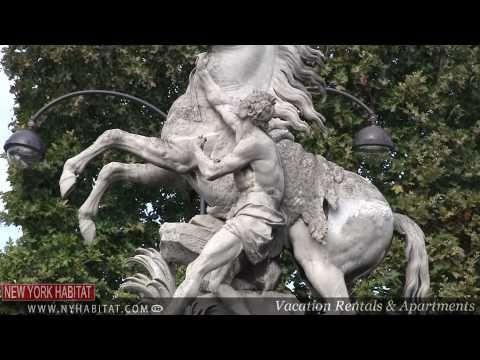 Paris, France - Video Tour of the Champs Elysées (Part 1)
