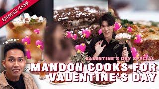 Mandon Cooks A Valentine's Day Dinner!   Eatbook Cooks   EP 55