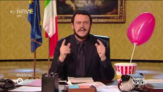 Crozza Salvini di nuovo innamorato