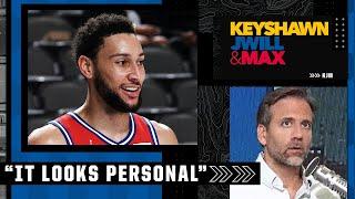 'It looks personal!' - Max's take on the Ben Simmons news | Keyshawn, JWill \u0026 Max
