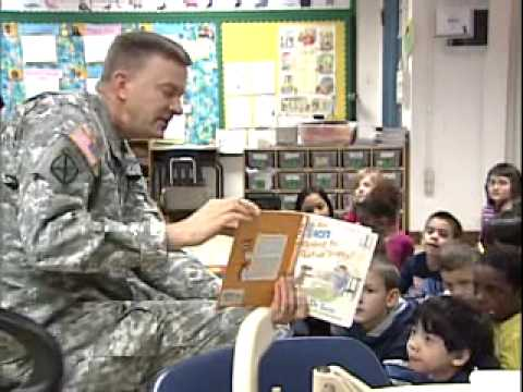 Read Across America 2010 - U.S. Army Africa (Vicenza, Italy)