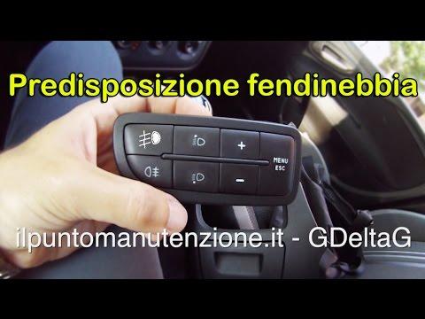 Schema Elettrico Per Fendinebbia : Controllo predisposizione fendinebbia anteriori youtube