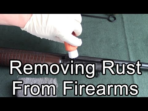 Removing rust from firearms