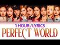 TWICE (トゥワイス) - Perfect World (1 Hour) Lyrics   1時間