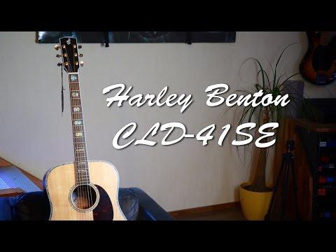 Harley Benton CLD-41SE - Acoustic Guitar Demo