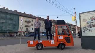 Bosnyák téri kampány-standup a zuglói civil polgármester-jelölttel, Várnai Lászlóval   2019.09.19.