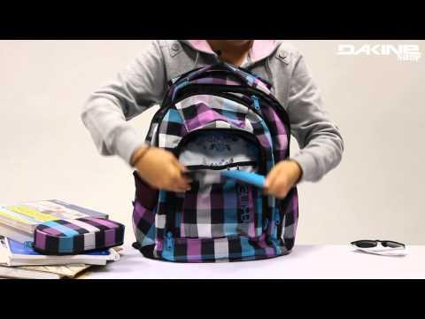 Der Dakine Frankie 26L Laptoprucksack für Mädchen