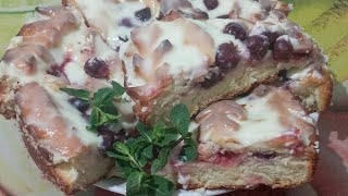 Ммм..... Любимый пирог с вишней//Рецепты из бабушкиного сундучка
