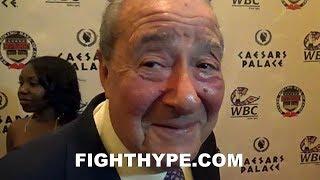 BOB ARUM CONFIRMS HE WANTS MIKEY GARCIA VS. LOMACHENKO; SAYS GARCIA FIGHTING SPENCE IS
